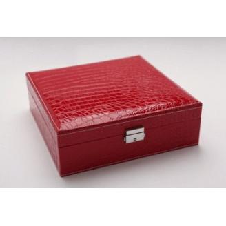 Большая шкатулка для украшений Crock Red 3-1073-5