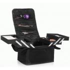 Кейс для косметики в чехле с органайзером 2-1005 Черный