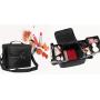 Кейс для косметики в чехле с органайзером Calmi 2-1005-2 Черный