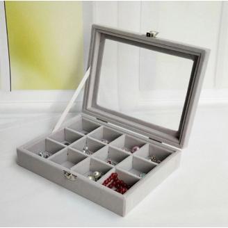 Шкатулка для украшений Sunny Gray 5-1060-3