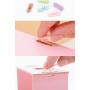 Сборный органайзер для косметики с зеркалом (3-4 ящика) 5-1073-3 Розовый