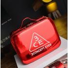 Зеркальный кейс чемоданчик для косметики 3 Concept Eyes с ремнями-фиксаторами 4-1024-5 Красный