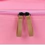 Большая косметичка с отделениями в форме шкатулки 3-1037 Розовая