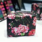 Кейс чемоданчик для косметики с выдвижной полочкой с яркими принтами 4-1018-7