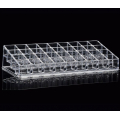 Акриловый органайзер для косметики прозрачный 36 слотов (4 x 9) 5-1003-1
