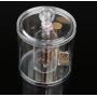 Круглый контейнер для косметики 5-1013-1
