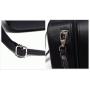 Кейс для косметики 3 Concept Eyes с лямкой на плечо 4-1023-1 Черный