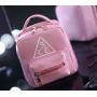 Вместительная косметичка 3 Concept Eyes с внешним карманом 4-1003-1 Розовая
