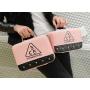 Двухцветный кейс чемоданчик 3 Concept Eyes со стразами 4-1022-3 Розовый-черный