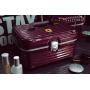 Дорожный кейс сундучок для косметики с замком из ABS пластика и алюминия Ferrari 6-1003-2 Бордо