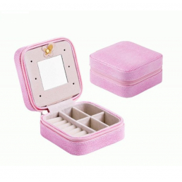 Компактная шкатулка для украшений Pink VS 3-1072-5