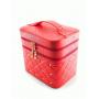 Кейс для косметики со стразами Krey Diamond (2 отделения) Арбузный 4-1042-2