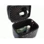 Кейс для косметики со стразами Krey Diamond (2 отделения) Черный 4-1042-3