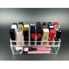 Большой органайзер для косметики 24 слотов (3 x 8) с контейнером 5-1035-1