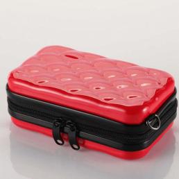 Косметичка из ABS 1-1066-3 Красная