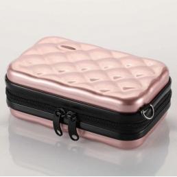 Косметичка из ABS 1-1066-1 Жемчужно-розовая