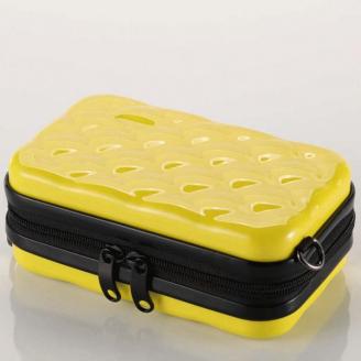 Косметичка из ABS 1-1066-5 Лимонный желтый