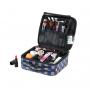 Компактный кейс для косметики с принтом 2-1015-9