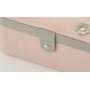Шкатулка для украшений со съемной полочкой 3-1084-1 Розовая