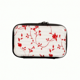 Косметичка из ABS 1-1067-2 Red Flowers