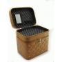 Кейс для косметики со стразами Krey Diamond (2 отделения) Золотистый 4-1042-4